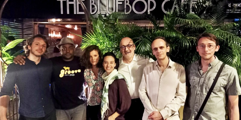 Guillaume-Barraud-quartet_India-Tour-2020-Bluebopcafé-Mumbai